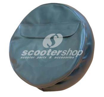 Black wheel cover with case for wheel 300-10