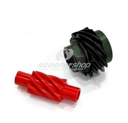 Speedometer gearing (set) for Vespa 50
