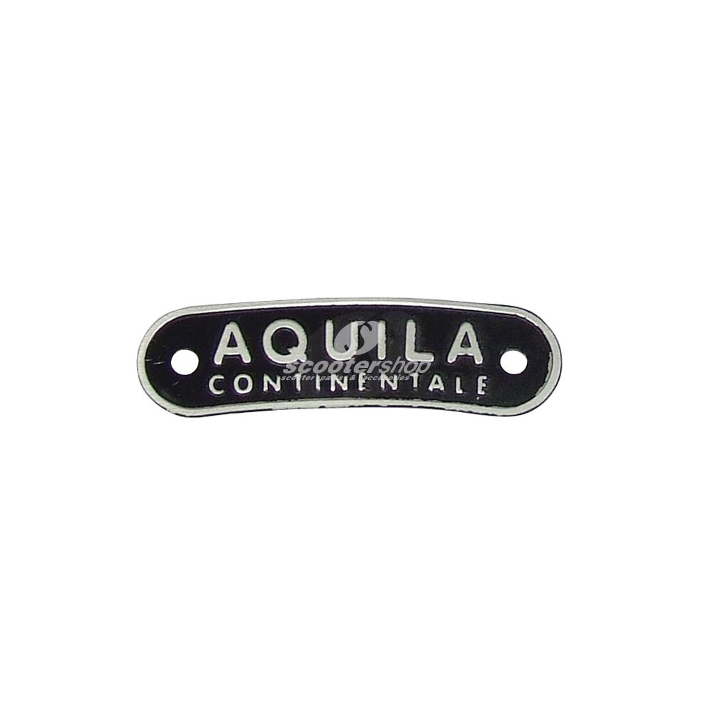 Rear emblem AQUILA for Vespa or Lambretta