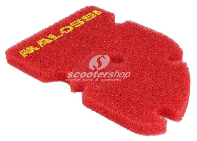 Red air filter Malossi for Piaggio Vespa Gt-Gts-Gtv-Gts Super 125-200-250-300