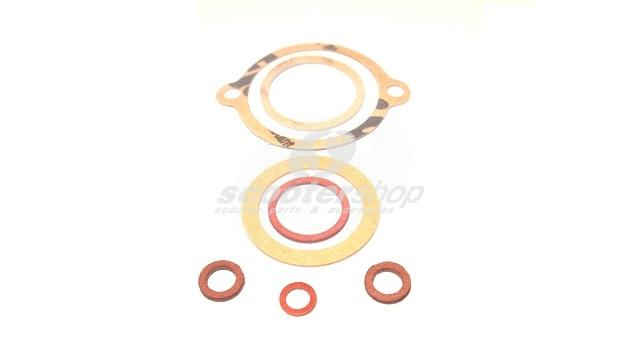 Gasket set for carburator of  Lambretta I - II series.