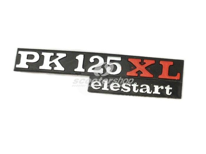 Sidepanel- door emblem for Vespa PK125XL elestart