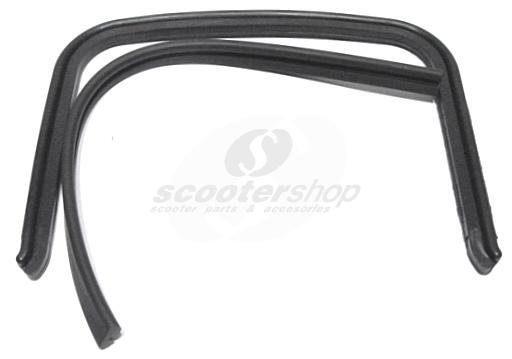 Bridge rubber black for  Lambretta DL-GP