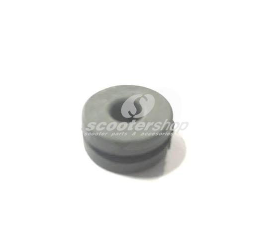 Grey petrol rod frame grommet per Serveta , also for Lambretta I-II-III Series, GP,DL.