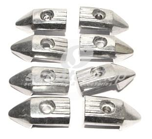 End cap for front floor rails for Lambretta GP-DL - you need 8 pieces
