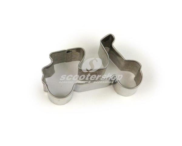 Cookie Cutter Vespa, stainless steel