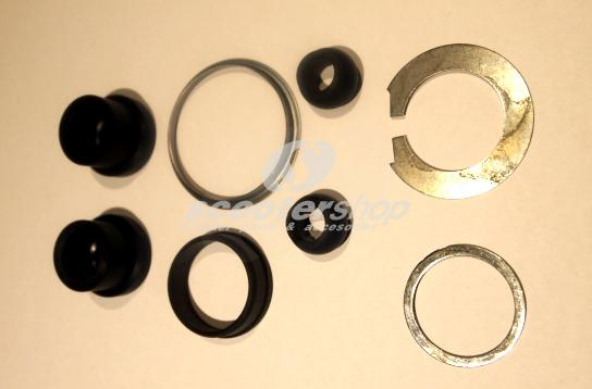 Handlebar anti vibration bush & shim kit (8 pieces) for Lambretta I - II series