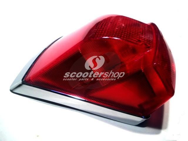 Rear Light for Vespa PX after 2001. Can fit all Vespa PE - PX after 1978