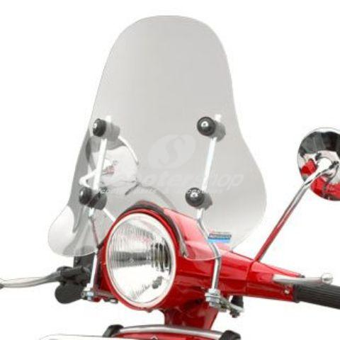 Small windscreen transparent for Vespa PX-ARC incudes fittings(7km more top speed!!!!)