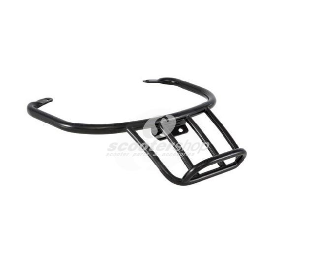Rear luggage Carrier black S.I.P for Vespa GTS, GTS Super, GTV, GT 60 125-300cc.