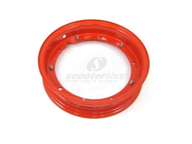 "Red rim for Vespa 10"" PX,TS,Rally,Sprint,GL,Gtr"