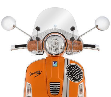 Small windscreen for Vespa GT-GTS