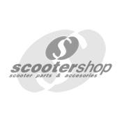 Key chain Vespa legshield metal , grey, 3,2x4,2x1,2 cm. Great gift !!!