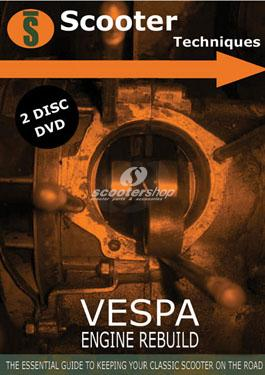 Dvd engine rebuild Vespa - 5 hours
