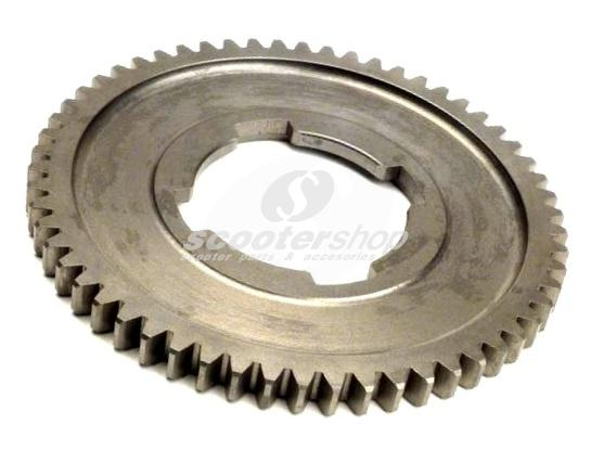 Gear cog 58 teeth, 1st gear for Vespa 50, Primavera, ET3, Pk 50-125, FL2.