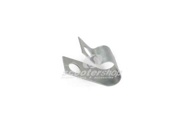 Mounting Clamp wire guide cylinder cowl, top, for Vespa V50 S, Special, SS, PV, ET3, PK50 -125S, XL.
