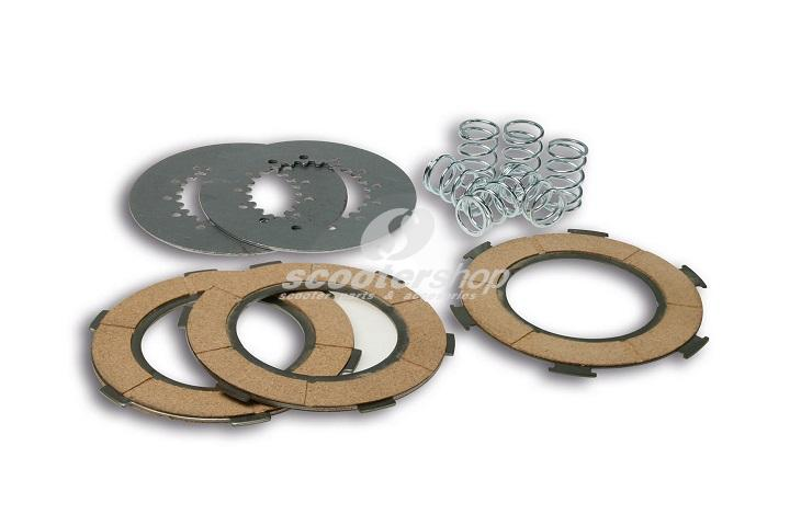 Clutch plates set Malossi for Vespa PXE 125-150 (old clutch)