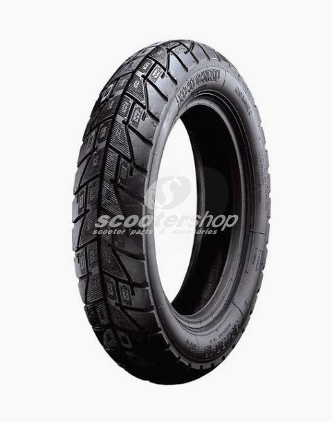 Heidenau k47 3.50-10 tyre for Vespa & Lambretta, ideal for both dry and wet conditions!