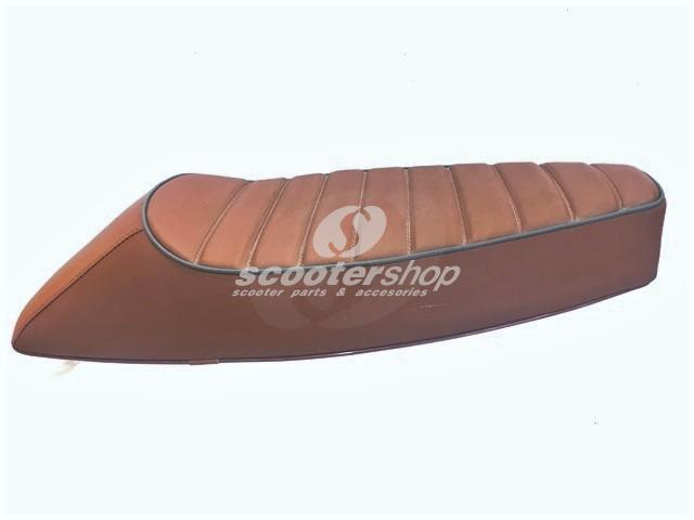 Sport seat brown for Vespa PX - VBB - SPRINT - GT