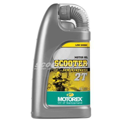"Oil 2T MOTOREX ""Scooter synthetic performance"" semi synthetic"