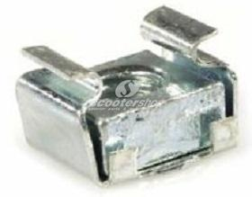 Box nut -M6- used for brake pedal of Vespa V 50 - PX, T5 , PK