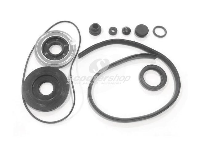 Oil Seal Set for crankshaft with o - rings for Vespa VBB 150, 125 GT, GTR, TS, 150 Sprint, 20x62x6.5, 20x40x6, 27x37x7