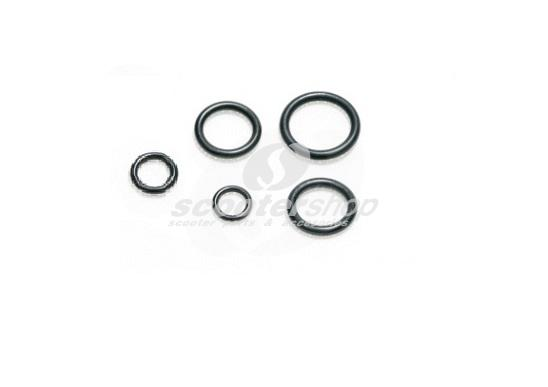 O-Ring Kit engine (5 pieces) for Vespa V50s, Primavera 125, ET3, PK 50 - 125s, XL - FL - ETS