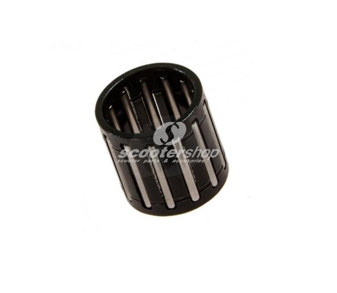 Gudgeon Pin Bearing for Scooter 125-180 - Vespa PX 200 - Cosa 200 - Rally 200cc, 16x20x20 mm, dark grey