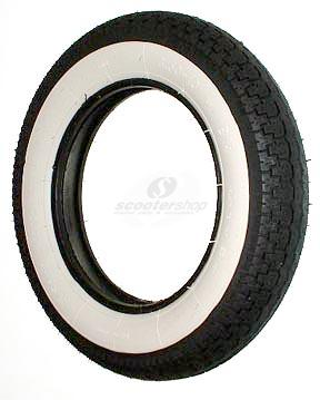 Tire Sava 3.50-10 with white wall