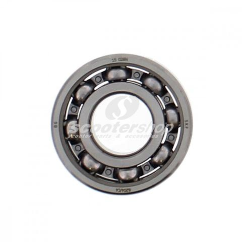 Rear wheel bearing SKF (6204/C4) for Vespa PX-PE, Crankshaft bearing for V 50 and Minarelli, 20 x 47 x 14mm